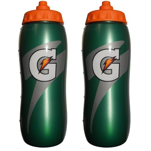 set-of-2-gatorade-leakproof-green-orange-sport-squeeze-water-bottles-20-oz-by-gatorade