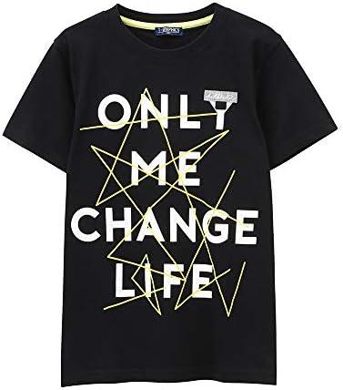 ボーイズ ネームフォルダー付き Tシャツ 子ども 男の子 半袖Tシャツ MH/TG739B キッズ
