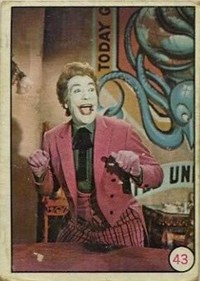 1966 Topps Batman Bat Laffs (Non-Sports) card#43 The Joker of the Grade Excellent to Excellent Mint from Topps