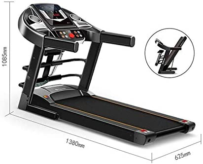 YFFSS Running Machines Desk Treadmill Electric Treadmill Household Model Folding Silent Indoor Fitness Weight Loss Walking Treadmill for Home and Office 7