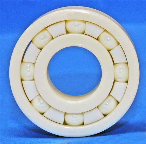 VXB 608ZR02-ZR02-PTFE Full Ceramic Miniature Bearing 8X22X7 Id=8Mm Od=22Mm Width=7Mm