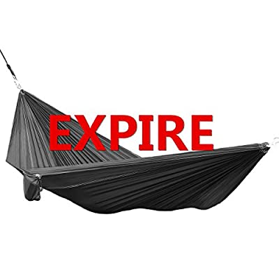 Himal Portable Parachute Nylon Fabric Travel Camping Hammock