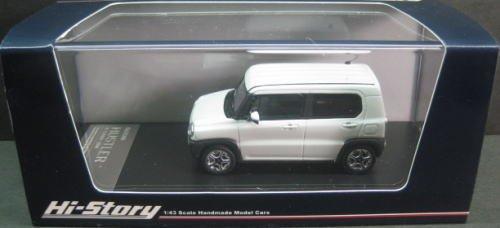 1/43 SUZUKI HUSTLER X TURBO 2014(パールホワイト) HS085WH