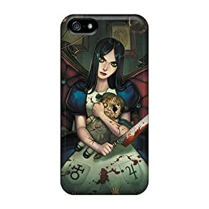 Excellent Design Alice Madness Return Case Cover For Iphone 5/5s