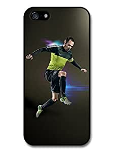 meilinF000AMAF ? Accessories Andres Iniesta FC Barcelona Green Football Player case for iphone 6 plus 5.5 inchmeilinF000
