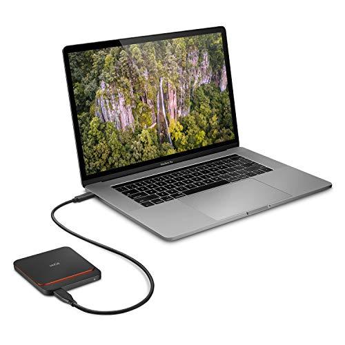 LaCie Portable SSD High Performance External SSD USB-C USB 3.0 Thunderbolt 3 1TB STHK1000800 by LaCie (Image #1)