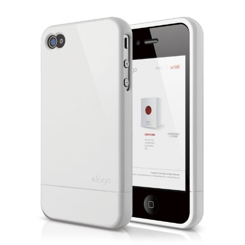 elago S4 Glide Case for AT&T, Sprint and Verizon iPhone 4/4S - eco friendly packaging