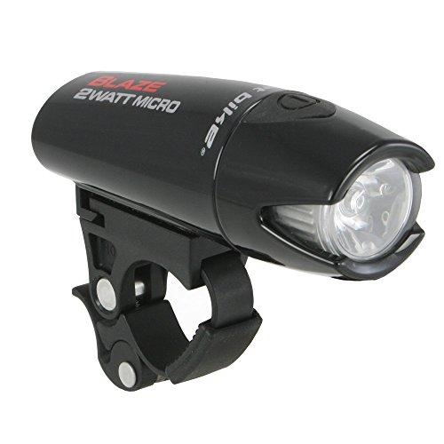 Planet Bike Blaze 2 Watt Micro Headlight, Gloss Black