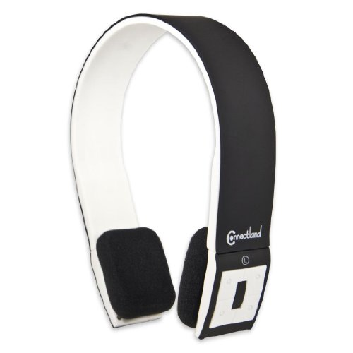 Connectland CL-AUD23028 Universal Wireless Bluetooth V4.0 + EDR norm Sport Band Headphone, Black