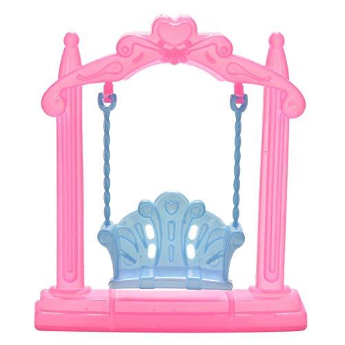 Ameesi Pretend Toy Dollhouse Furniture Miniature Swing Play