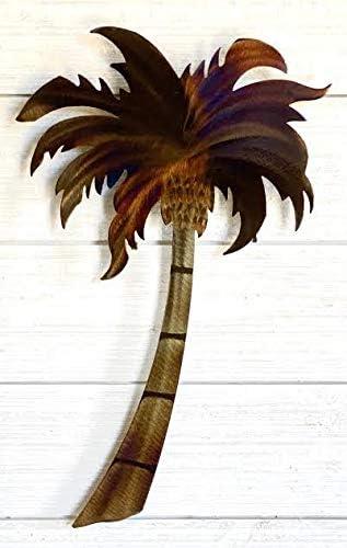 Palm Tree Wall Sculpture