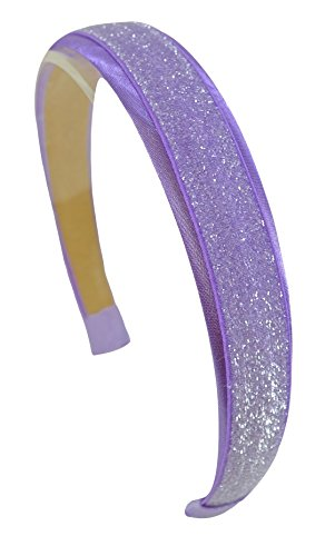 Girls Satin and Glitter Arch Headband By Funny