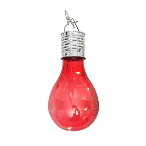 Clearance ! Litetao New ! Hot Sale ! New ! Hot Sale! Waterproof Solar Portable Outdoor Garden Camping Hanging LED Light Lamp Bulb for Home/Garden/Outdoor/Indoor (Hot Pink - Clip Socket G4