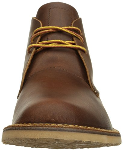 Red Wing Heritage Mens Weekender Chukka Boot In Rame Grezzo E Resistente