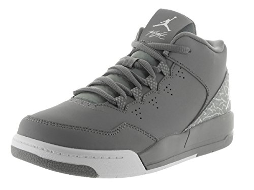 Jordan - Zapatillas de baloncesto de Material Sintético para niño Cool Grey/White Wolf Grey
