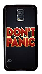 Dont Panic Custom Samsung Galaxy S5 Case Cover - Polycarbonate - Black