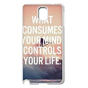 Quotes Pattern DIY Cover Case for Samsung Galaxy Note 3 N9000,personalized phone case ygtg-350451 hjbrhga1544