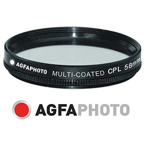 ブランド新しい円形光板CPLフィルタfor Fujifilm x-e3 (58 mm互換)   B07D8GGW66