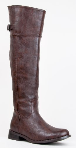 Fashion Breckelles Rider Boot Hot Riding Light 82 Rider Women's 82A 8 Brown f5OOdq