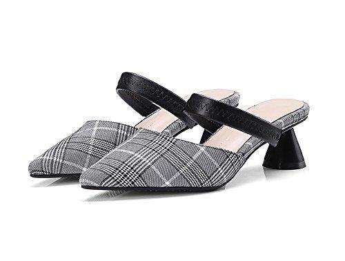mitad Sandalias trentotto NHGY y zapatos moda Baotou especiales tirados mitad 4wFTqSw