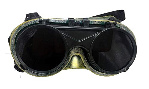 Post Apocalyptic Halloween Party (Steampunk Cosplay, Rave and Masquerade Goggles Gold,)
