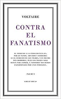 Book's Cover of Contra el fanatismo religioso (Serie Great Ideas 39) (Español) Tapa blanda – 15 octubre 2015