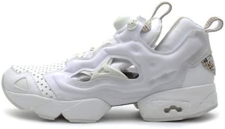 reebok pump all white