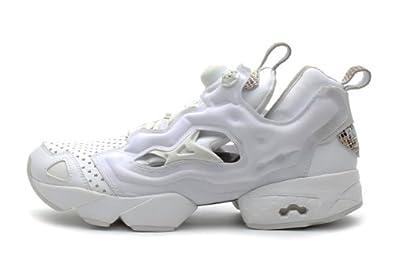 reebok fury pump all white