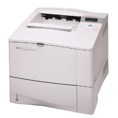 HP LASERJET 4100N WORKGROUP LASER PRINTER C8050A 90 DAY WARRANTY (Renewed)