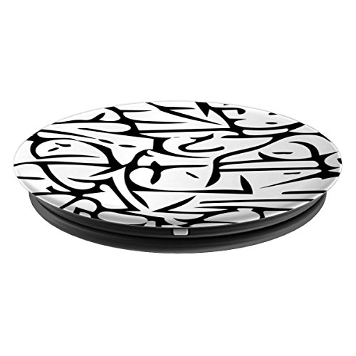 Chaotic Stripe Pattern - PopSockets Grip and Stand for Phones and Tablets