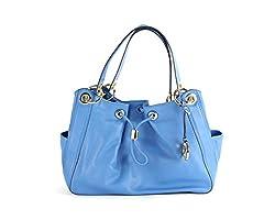 Michael Kors Large Shoulder Bag - Heritage Blue