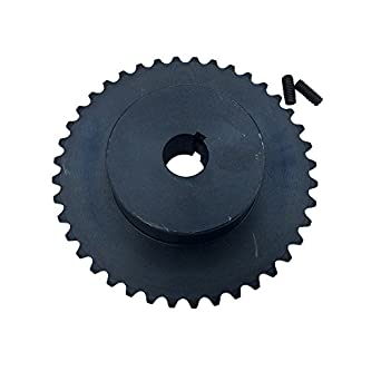 """KOVPT 35 Roller Chain Sprocket 3/4"""" Bore 25 Teeth B Type 3/8"""" Pitch"""