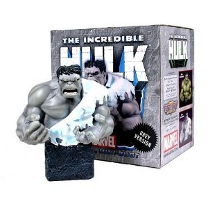 Bowen Designs Mini Bust (Incredible Hulk 'Grey' Variant (Mr. Fixit) Mini-Bust by Bowen Designs!)