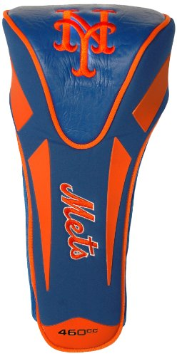 (Team Golf MLB New York Mets Golf Club Single Apex Driver Headcover, Fits All Oversized Clubs, Truly Sleek)