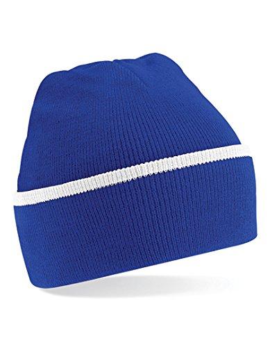 Beechfield Unisex Talla Única Teamwear Negro Gorro WHI B471 BRO rRqw6r4