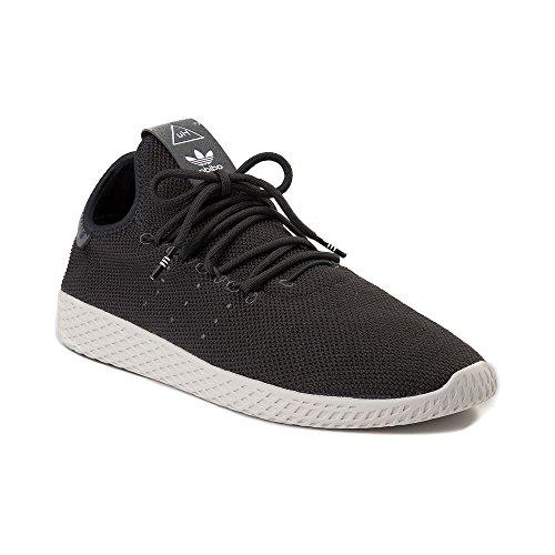 内向きその間スリップシューズ(アディダス) adidas 靴?シューズ レディーススニーカー Mens adidas Pharrell Williams Tennis HU Athletic Shoe Carbon/White /ホワイト US 11.5 (29.5cm)