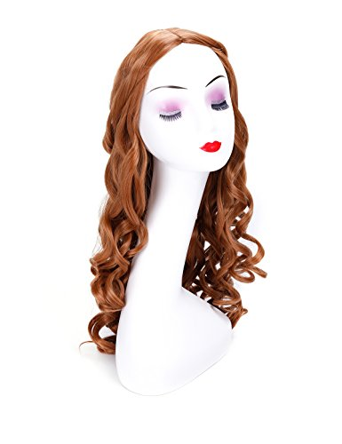 Morvally Long Curly Glamour Heat Resistant Synthetic Hair
