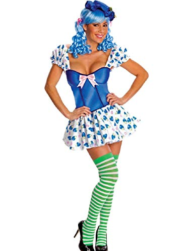 Blueberry Muffin Adult Costume - Women's Sexy Adult Strawberry Shortcake Blueberry Muffin Costume