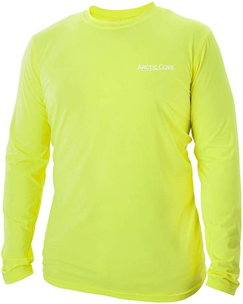 Arctic Cove Men's Extra Large Yellow Long Sleeve Shirt - MAC570XL