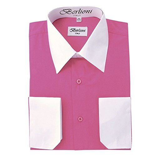 dress shirts two tone - 9
