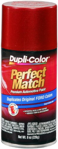Dupli-Color EBFM03177 Electric Currant Red Metallic Ford Exact-Match Automotive Paint - 8 oz. - Factory Spray Paint