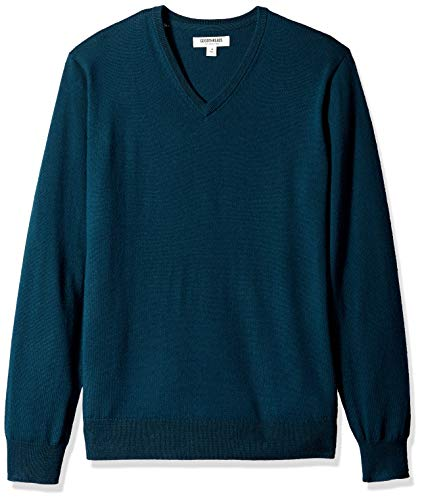 Sweater Goodthreads Uomo Teal deep Blue pz66nrW