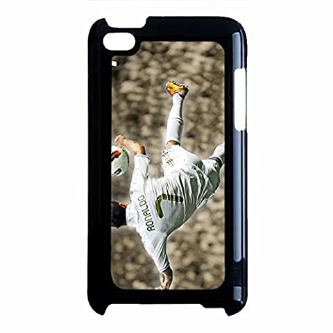 Cool Classical Famous Soccer Cristiano Ronaldo Phone Case Cover for Ipod Touch 4th Generation CR7 Real Madrid (Ipod 4 Cases Cr7)