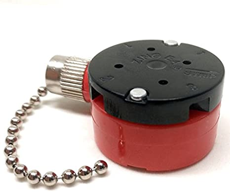 Ceilingfanswitch Zing oreille Ze 208s Switch 3 Vitesse Pull Chaîne de remplacement de contrôle de ventilateur de plafond contrôle de vitesse