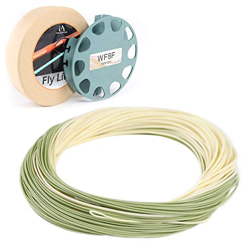 M MAXIMUMCATCH Maxcatch Special Design Fly Fishing Line, Floating Series Fly Line (Trout LT, WF6F)