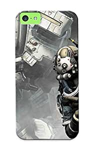 Catenaryoi CRaBqjv2346mTOzj Protective Case For Iphone 5c(titanfall) - Nice Gift For Lovers