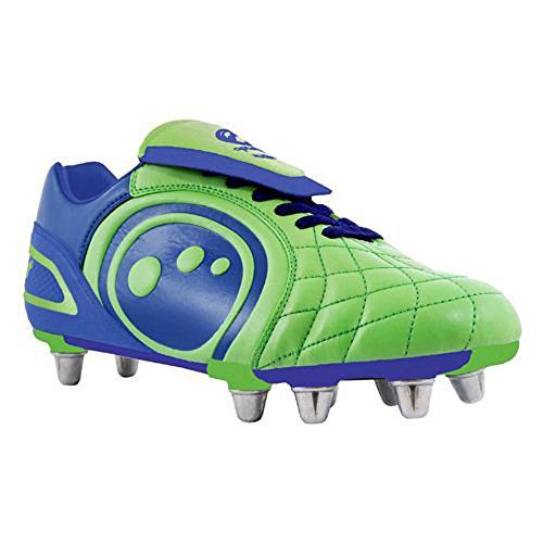 Optimum Eclipse - Zapatillas de rugby Verde