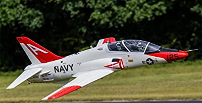 T-45 Goshawk Super Scale with 12 Blade 90mm EDF Jet Ducted Fan RC Airplane PNP