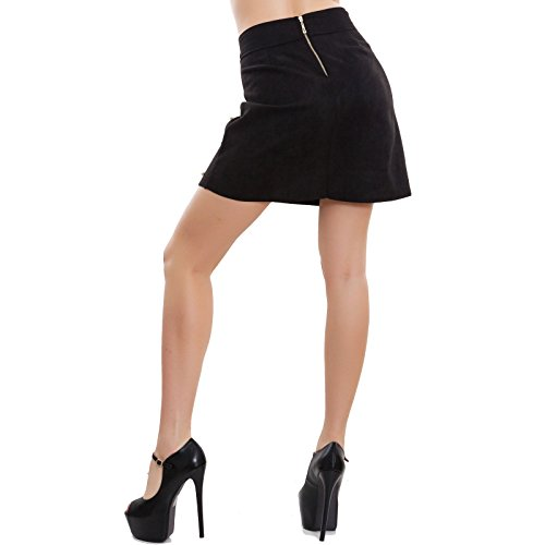 Noir Trapèze S Jupe Toocool Femme S5Pqw1Ptx