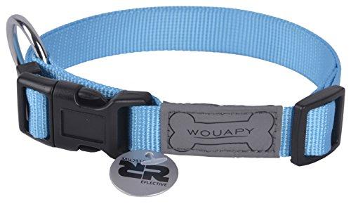 Wouapy Dog Collar Basic Line 20/30cm Blue